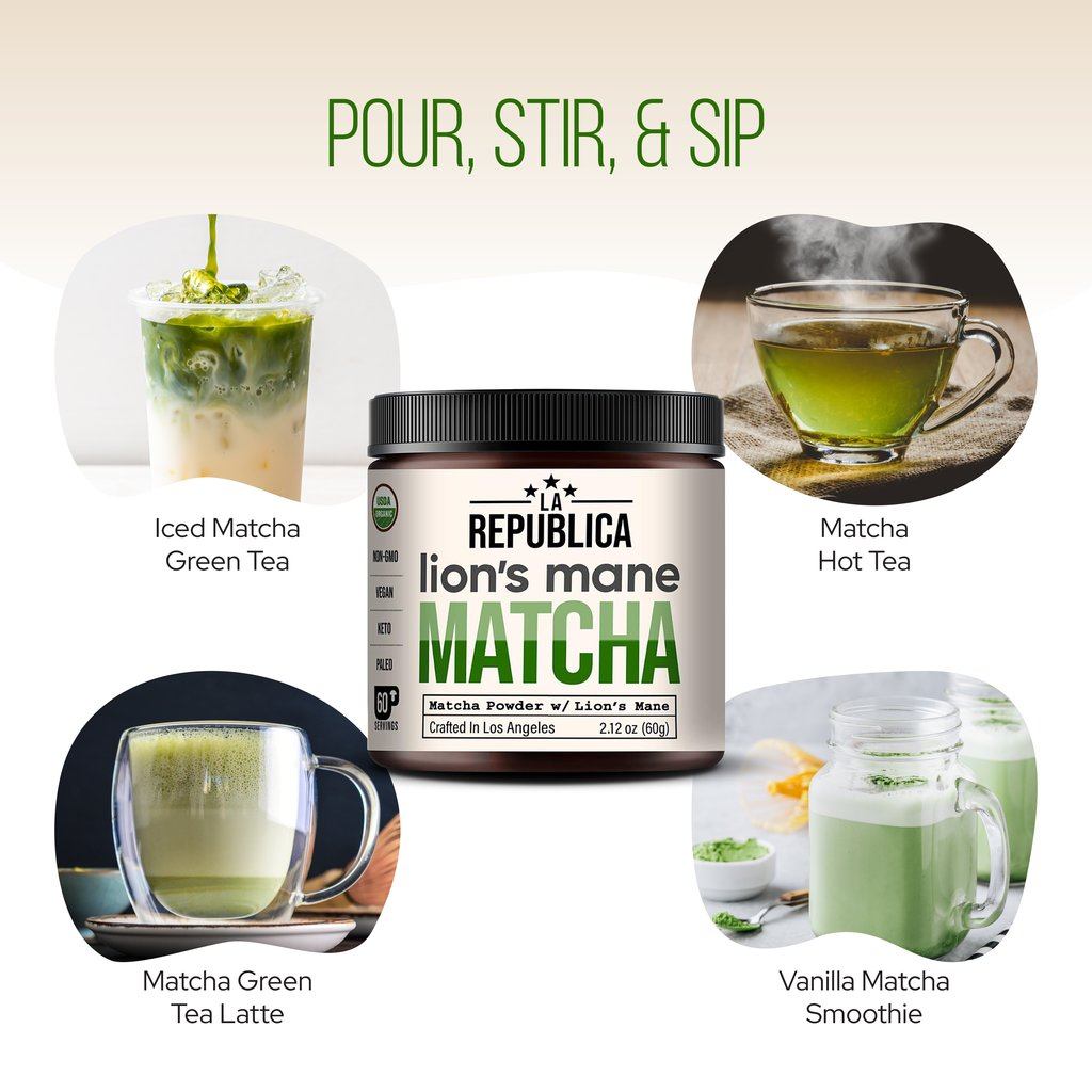 6 Reasons why you should drink Matcha 3