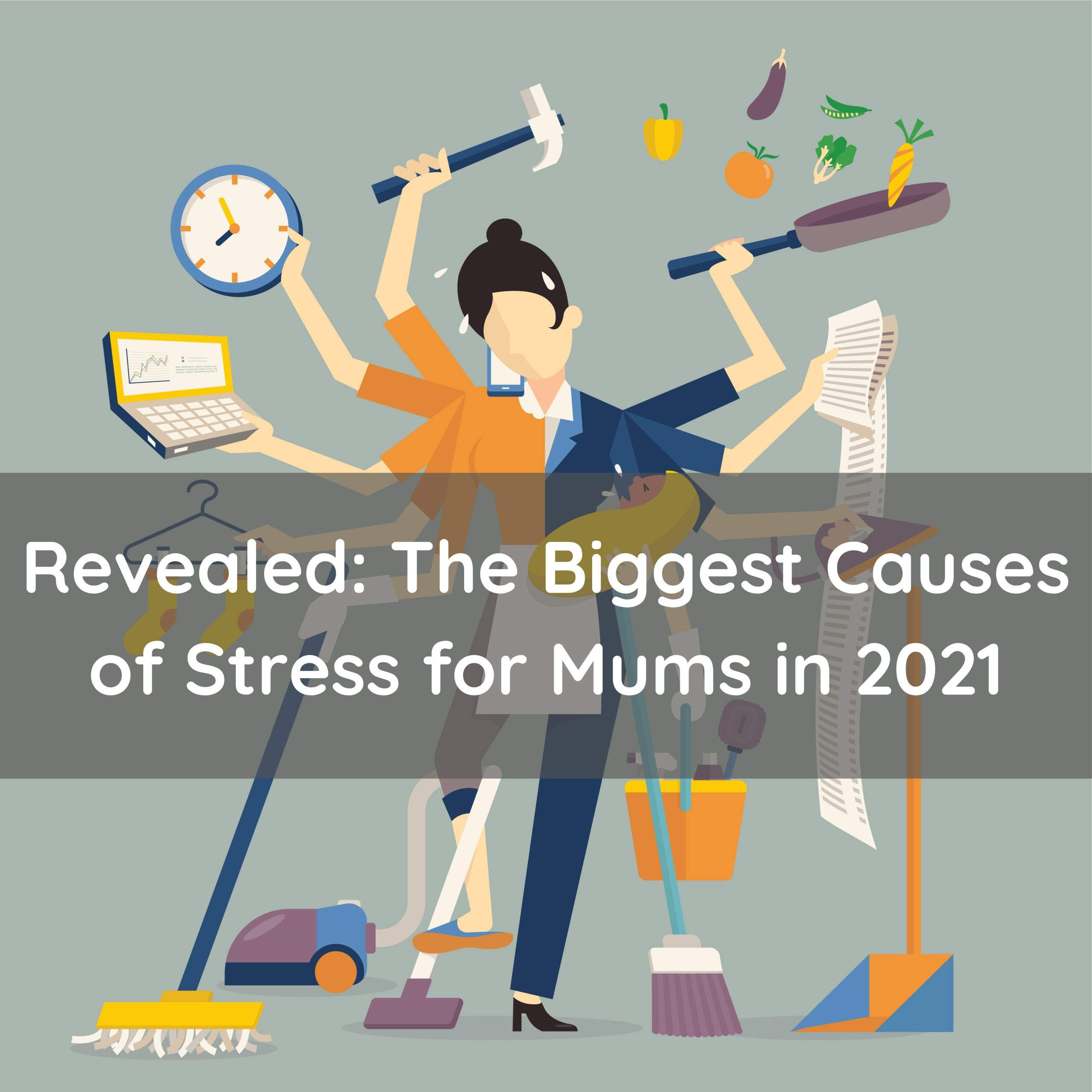 These things are causing mums the most stress this year, according to Mumsnet... 1